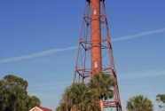Anclote lighthouse as it appeared in the 1990s