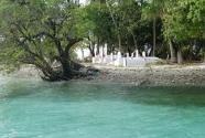 A cemetery on Majuro, Marshall Islands