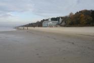 Jurmala beach. Dacha.