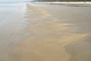 Jurmala beach. Sandbar