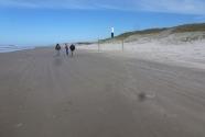 2. The hard sand beach
