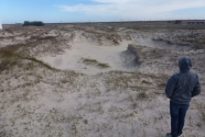 7. A blowout in the dunes