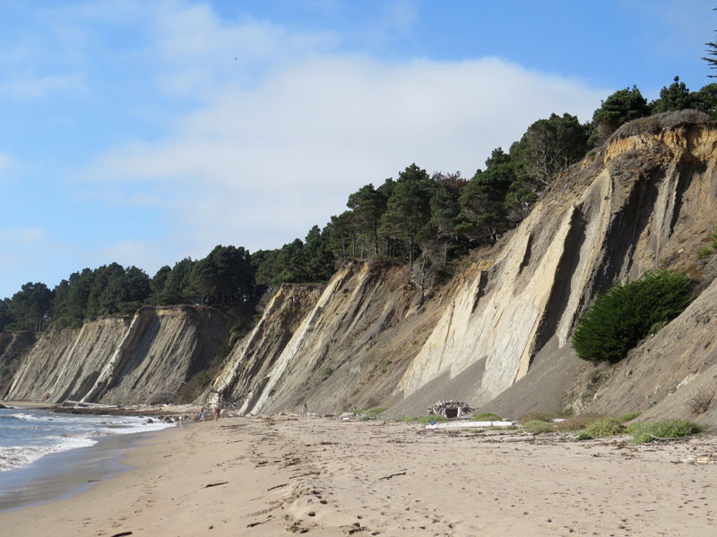 Bowling Ball Beach Mendocino Coast California By Gary Griggs