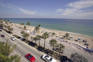 Fort Lauderdale beach, Broward County, Florida.