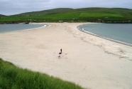 The beautiful tombolo beach