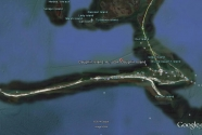 fig1. Dauphin Island from Google Earth