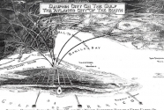 fig2.1920 promotional map on the development of Dauphin Island