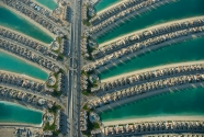Center core of the Palm Jumeirah.