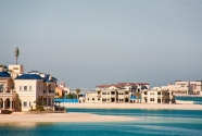 Luxury houses on Palm Deira