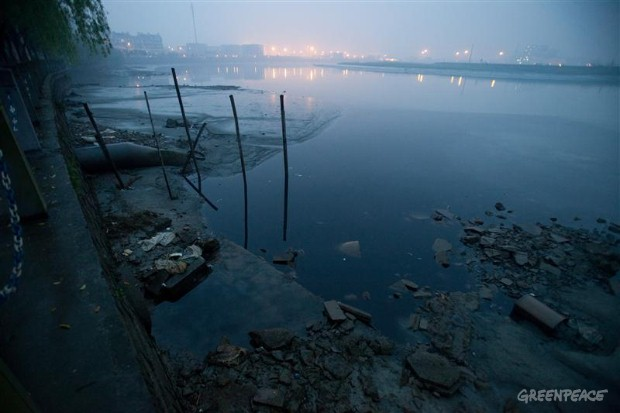 literature review on industrial water pollution