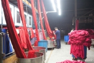 Toxic water pollution and textile manufacturing in China.