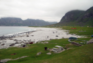 Figure-12-Uttakleiv-Beach-with-tents-and-picnic-tables