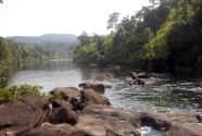 Cascade above Tatai river