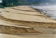 Large channels cut by rainwater after a heavy flood in Santa Catarina, Brazil. Photo: Andrew Cooper.