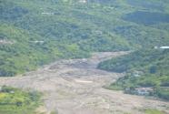 Sand mining in the Belham Valley.