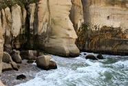 Tunnel Beach erosion, near Dunedin.