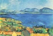 10. Paul Cézanne, Baie de Marseille, vue de l\'Estaque