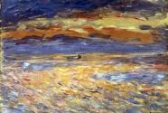 11. Pierre-Auguste Renoir, Sunset at Sea