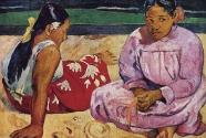 13. Paul Gauguin, Femmes de Tahiti, ou Sur la plage.