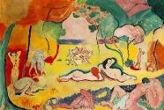 15. Henri Matisse, Le bonheur de vivre.