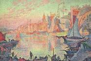 16. Paul Signac, Le Port de Saint-Tropez