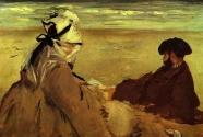 9. Édouard Manet, Sur la Plage.