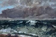 Gustave Courbet,  La vague