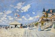 Claude Monet, Sur les planches de Trouville