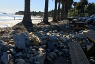 Refugio beach erosion
