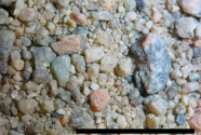 Coarse sand and gravel from Sermermiut Beach