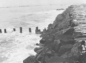 Cape May, N.J. Seawall, 1976