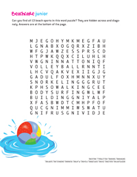 Coastal Care Word Search<