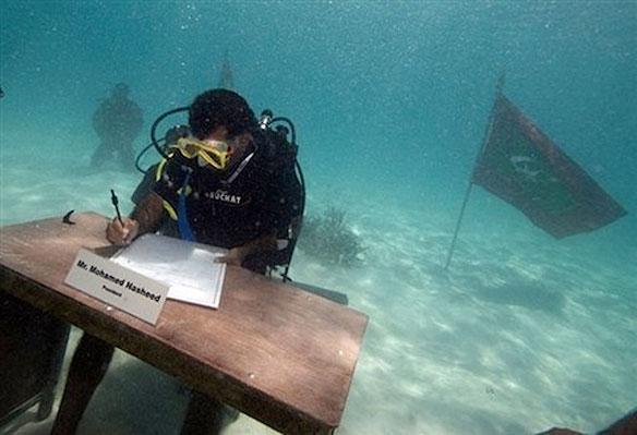 Maldives President Nasheer