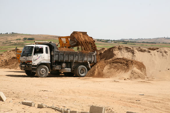Environmental Concern : Sand Mining Goes Unabatted! Oran, Algeria