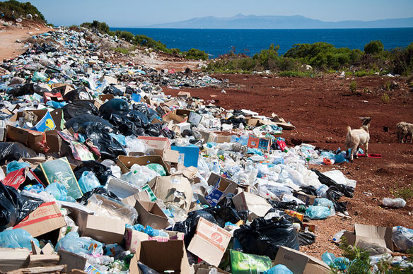 plastic pollution albanie