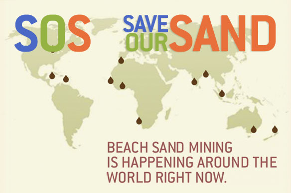 SOS Save Our Sand