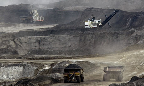 Tar sands oil extraction spreading rapidly, report warns.