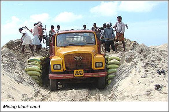 Mining Kerala Sand