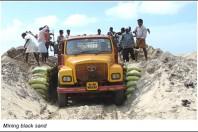 Sand mining renders land erosion in Kerala