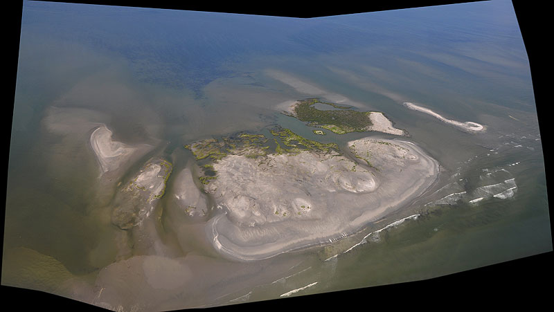 PSDS: Louisiana Oil Spill Aerial View