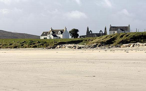 Scotland pristine white sand targeted by thieves in midnight raids