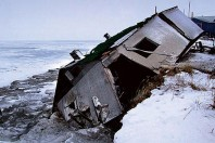 Erosion doubles along Alaska's Arctic coast:: Cultural and Historical Sites Lost