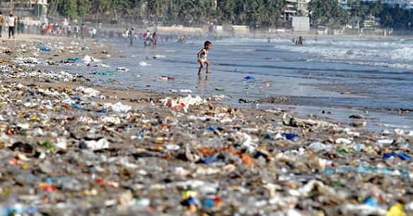 plastic in oceans