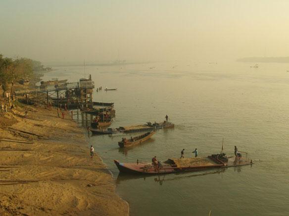 Sand Mining Bangladesh