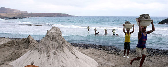 Cape Verde Voleuses de Sable