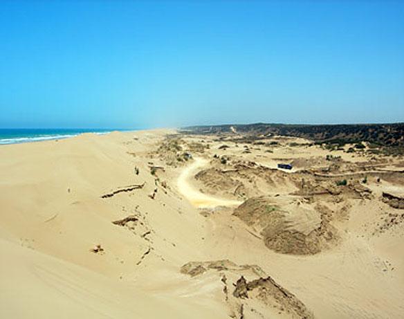 Morocco Beach Sand Mining