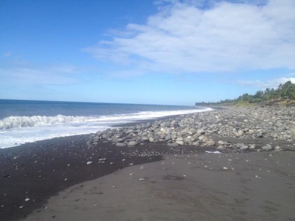 La Reunion-Black-sand
