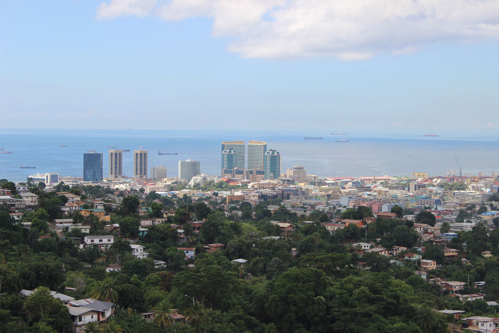 Battling Flood issues, Port of Spain, Trinidad and Tobago