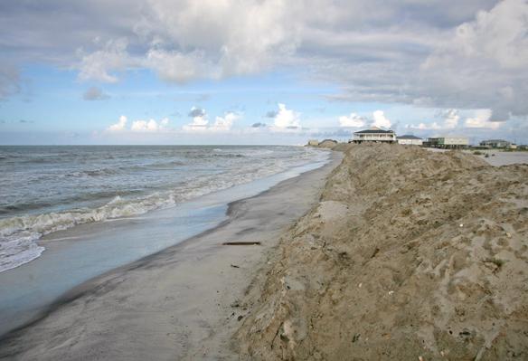 Excavation to begin on Dauphin Island berm