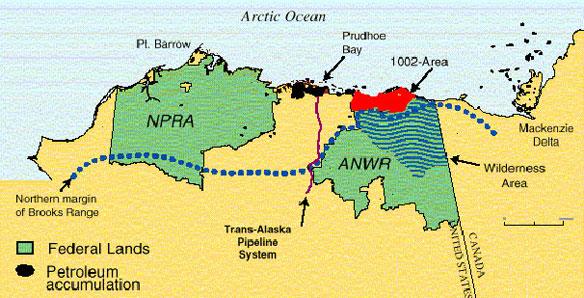 National monument status urged for Arctic refuge